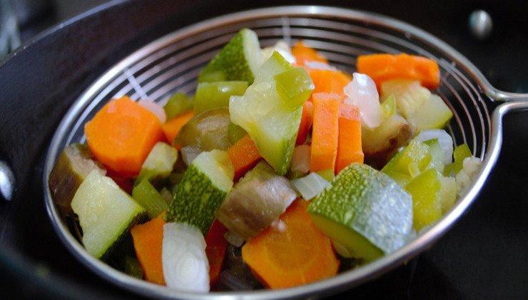verdure bollito