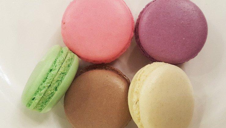 macarons colori