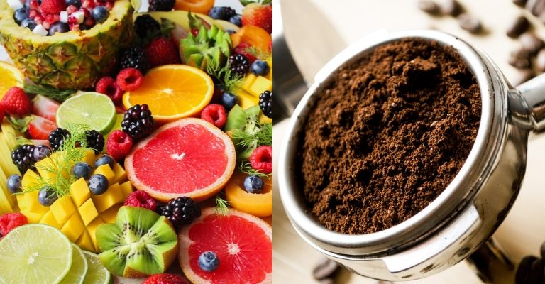 frutta e caffè